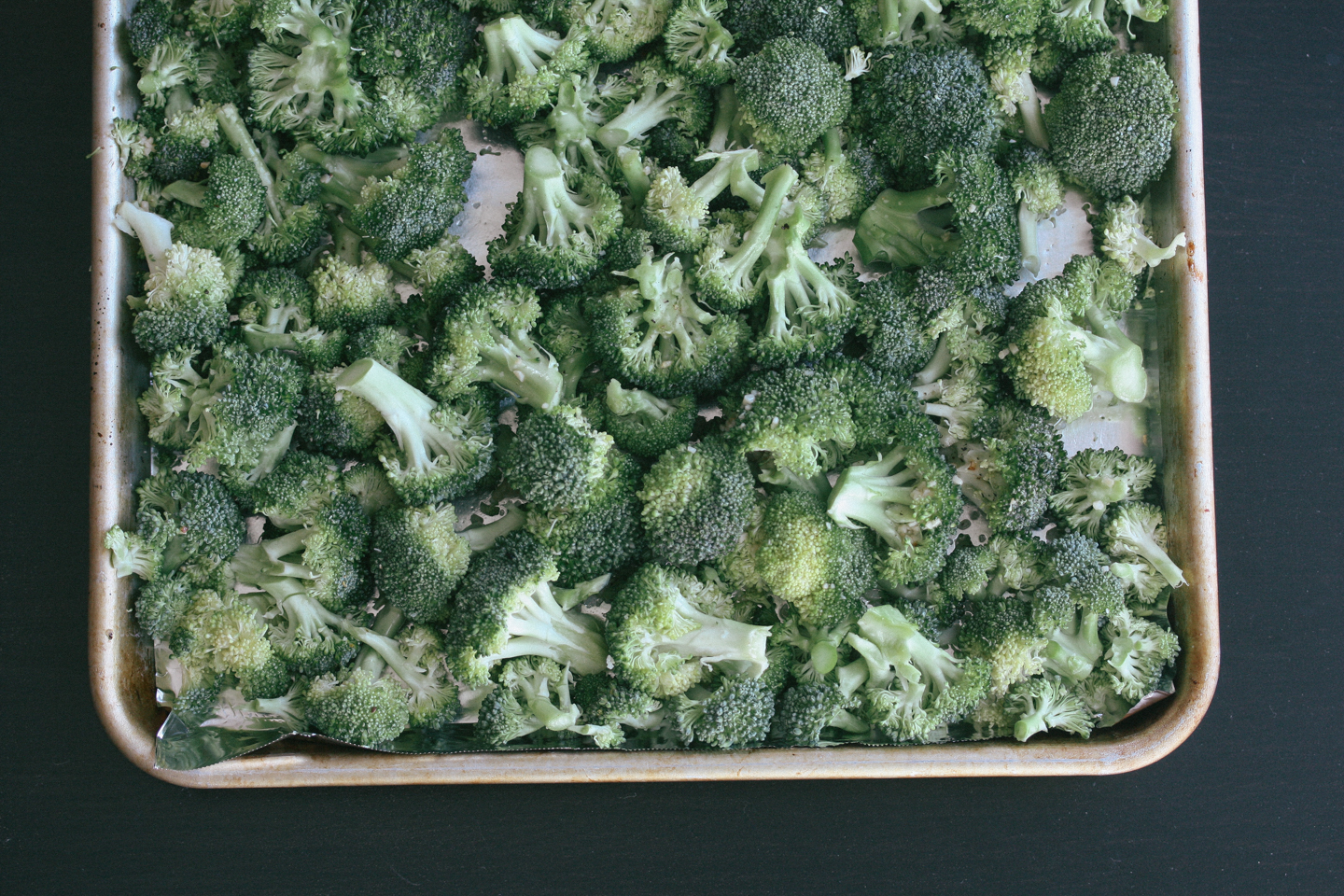 Roasted Broccoli with Parmesan Cheese & Lemon