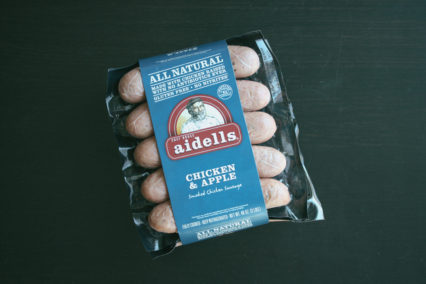 Aidells Chicken & Apple Sausage