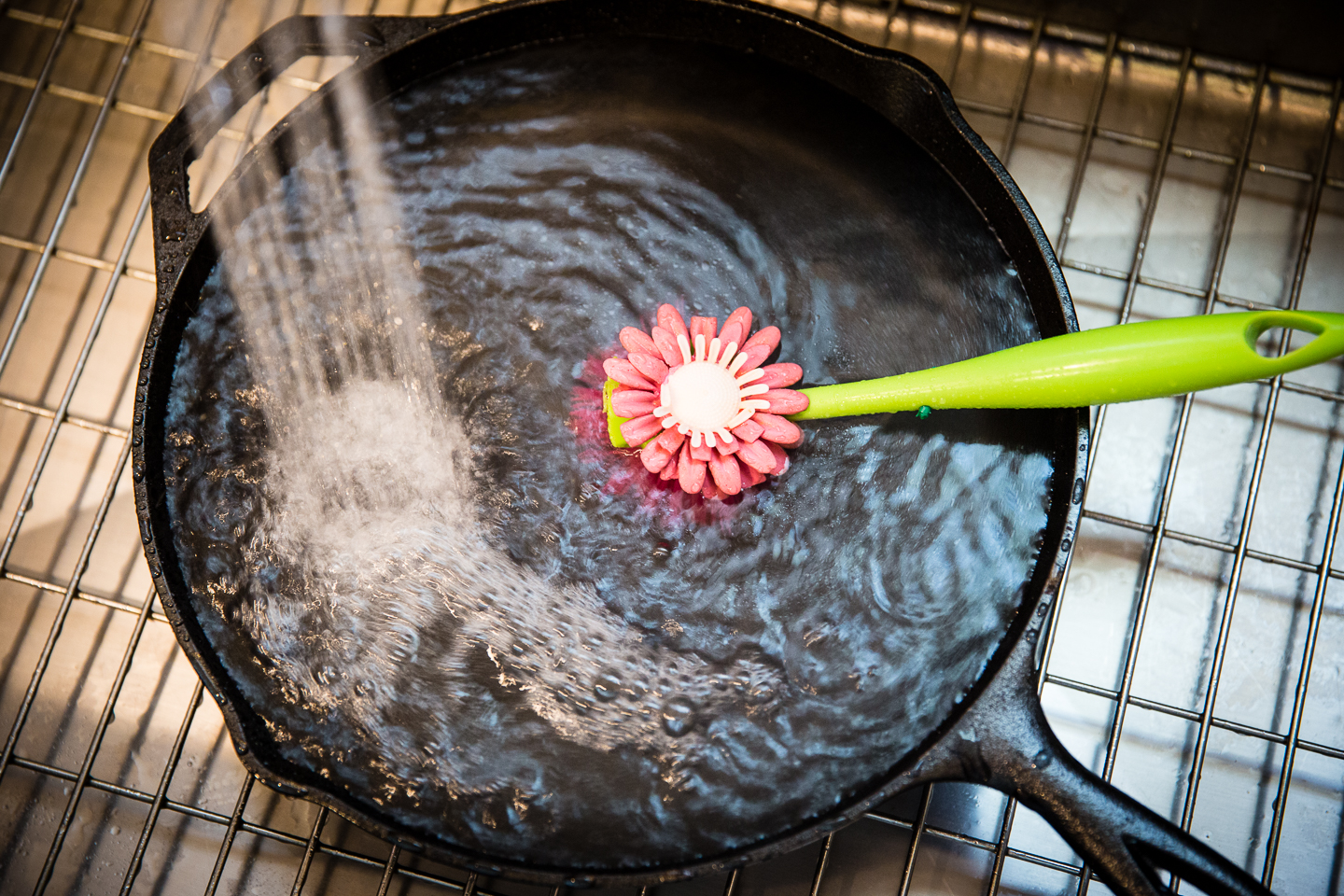 3-Washing the Pan