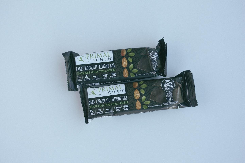 Primal Kitchen's Dark Chocolate Almond Bar