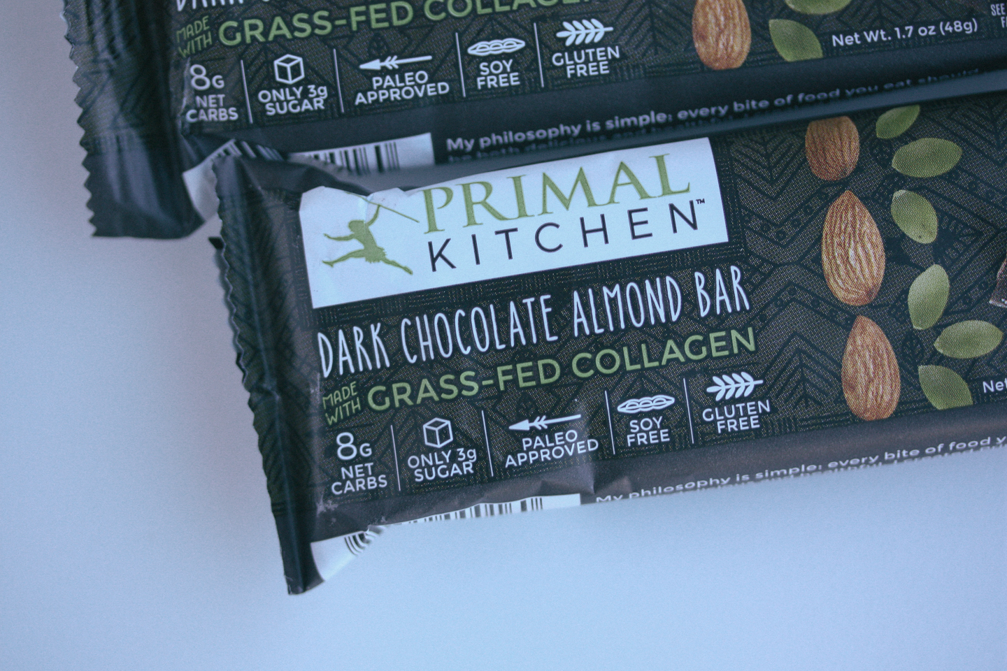 Primal Kitchen's Dark Chocolate Almond Bar