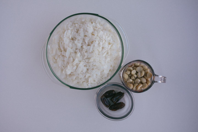Only three simple ingredients